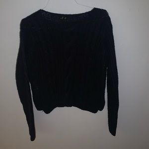 Forever 21 Navy Blue Sweater-Women's Medium
